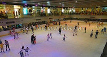 ice skating rink equipment/synthetic plastic ice rink/inflatable backyard ice rink