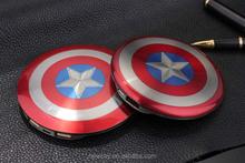 Avenger captain american shield 6800mah power bank for android mobile phone