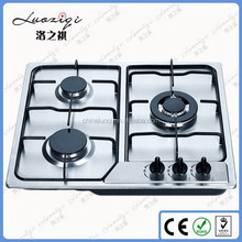 Alibaba china best selling 3 burners gas stove auto ignition