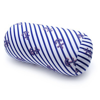 inflatable bolster pillow flocking long round tube bolster pillow foldable bed bolster pillows