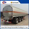 Three axles 12 wheels fuel tank semi trailer for hot sale