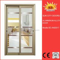 Interior sound insulated aluminum door window strip SC-AAD017