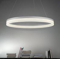 circle ring decoration led pendant light round