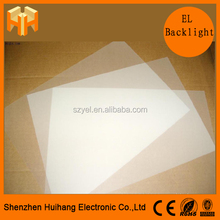 hot-selling el backlighting led light/Customized El Sheet / El Backlight