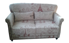 American Style Home Furniture, Living Room Furniture, Upholstered Double Sofa