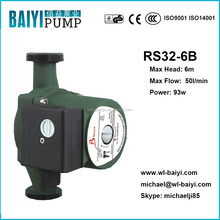 DAB style mini hot water pressure heating pump, hot water solar circulation pump RS32/6B