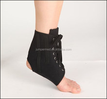 Sports lace up canvas ankle brace/ankle support/ankle wrap/Wrap Lace Ankle Support