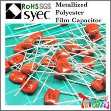 Capacitor Manufacturer MEF 473J 400V Metallized Polyester Film Capacitor