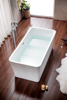 freestanding classical acrylic bathtub MV-016D