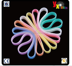 Soft Silicone Rubber Elasticity Wristband Wrist Band Cuff Bracelet Bangle Sporting Goods