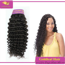 100% Malaysian Virgin Hair Extensions, Deep Curly Virgin Malaysian Hair