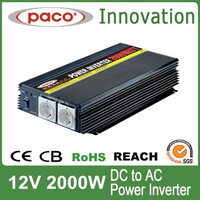 Power drive inverter 2000w ,off grid dc to ac with CE CB ROHS certificate