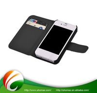 Premium Quality Custom Printing Magnetic Leather Case For Iphone 4 S