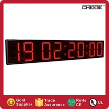 Customized Printing More Color Option 9 Digit LED Digital Countdown timer