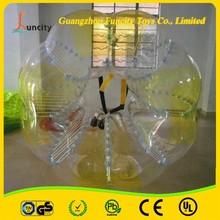 New Design 1.0mm Thickness PVC Bubble Fussball/Foot Bulle/Bumper Ball