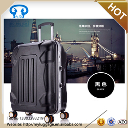 High quality 360 degree wheel abs and pc carry-on luggage