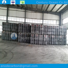 Prebaked aluminum electrolytic cell
