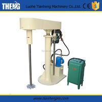 Top rated high speed automatic paint mixer with hydraulic lifting