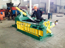 Y81-1250 Manul Operation Rubbish Scrap Recycling Baler hardox steel plate
