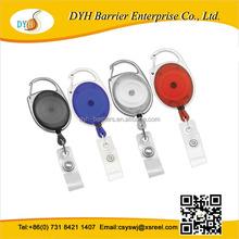 Top quality Badge Clip Carabiner Reels Yoyo Ski Pass ID Card Holder