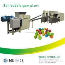 Newest technology ball bubble gum procesing machine