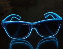 Glowing Spider man Mask Glasses Halloween LED Flashing Glasses for Party Dancing Light up Toys