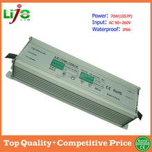 sample free CE RoHS high PF 70W waterproof ip66 DC30-36V 2100ma high quality shenzhen LED driver for outdoor roadlamp led lights