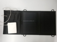 high quality factory price 7W foldable solar mobile phone charger with FCC CE RoHS