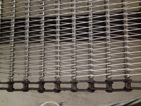 Jiexun stainless steel conveyor mesh belt for food making machine