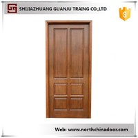 Modern Design Church Panel Interior Wood Door
