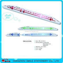 Promotional Pen With LED Light,LED Light Pen,Train Pen