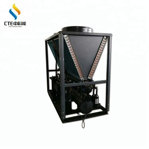 HVAC 에어컨 35KW R22 산업 냉동 공기 냉각기 가격