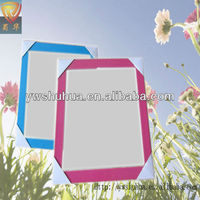 Lovely square wall hanging plastic mirror frame