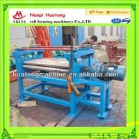 Metal leveling machine