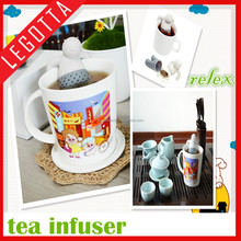 Most popular hot sale low price lovely reusable tea infuser promotional