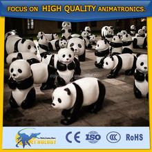 Cetnology New Product Customized Material Fiberglass/Animatronic Panda Model