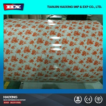 building material color coated 0.4mm thick ppgi metal sheet