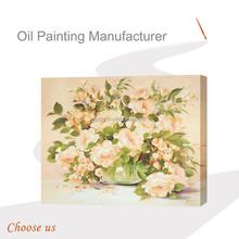 2015 nomi di fiori gialli pittura, bella rosa fiore dipinto ad olio su tela