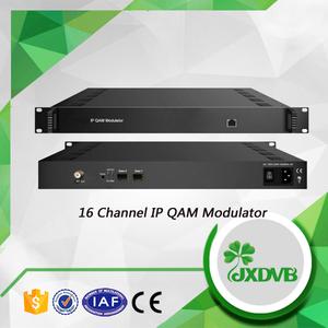 2017 Kabel-tv Digitale Headend 16 Kanäle IPTV QAM Modulator