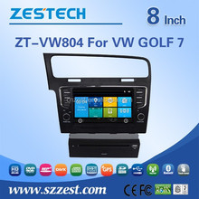dashboard placement car dvd player for VW GOLF 7 support GPS/Bluetooth/Radio SWC/Digital TV/3G internet/WIFI/ATV/DVR function