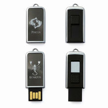 Best gift usb flash drive pen, customized logo 12 contellations usb flash drive memory, high quality usb flash drive disk