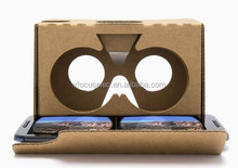 Google cardboard V2 virtual reality(VR) tookit 2.0 Viewer 3d glasses for 6inch phone available for andorid and ios