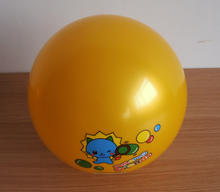 Alibaba china hot-sale pvc pearly lustre sports toy ball