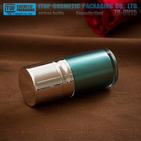 ZB-OV15 15ml thick outer wall good for cosmetics products 0.5oz airless high end cosmetics brands