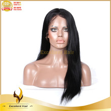Wholesale top quality brazilian virgin hair full lace wigs fashion brazilian human hair wig