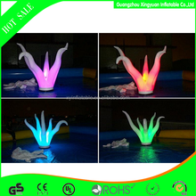 2015 Most popular custom inflatable lighted trees for party decoration