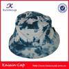 custom your own deisgn high quality long brim tie dyed washed fishing cap
