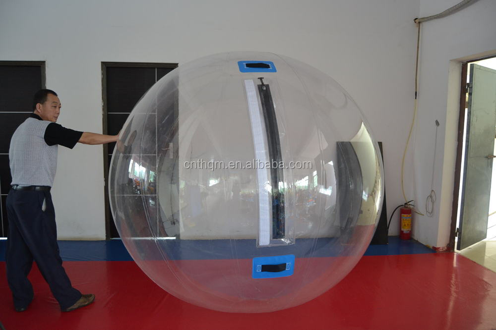 various color 2m dia water ball, water walking ball,inflatable water ball for kids and adults