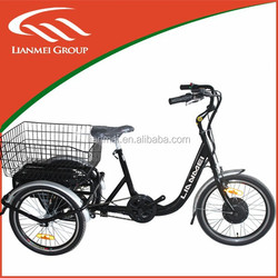 250w electric tricycle for child/adult with steel frame