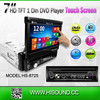 Bluetooth GPS car dvd player single usb